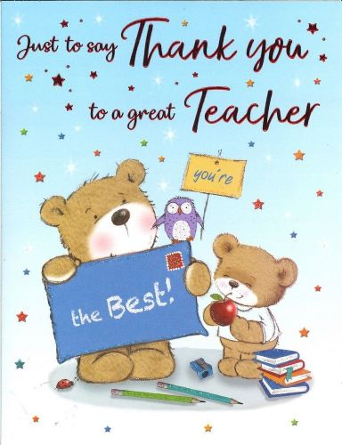 THANK YOU TEACHER C80268